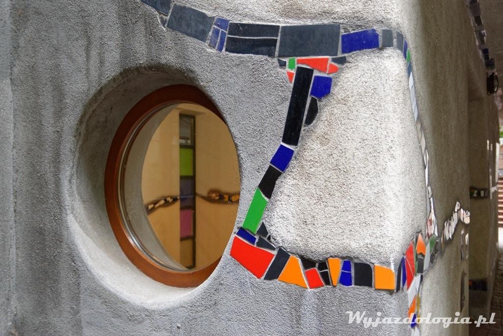 W Wiedniu Atrakcją jest Dom Hundertwassera