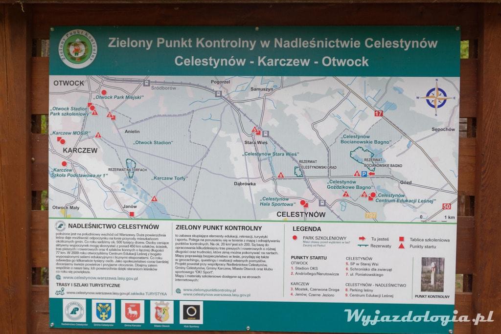 Bagno Bocianowskie czyli gdzie do lasu pod Warszawą