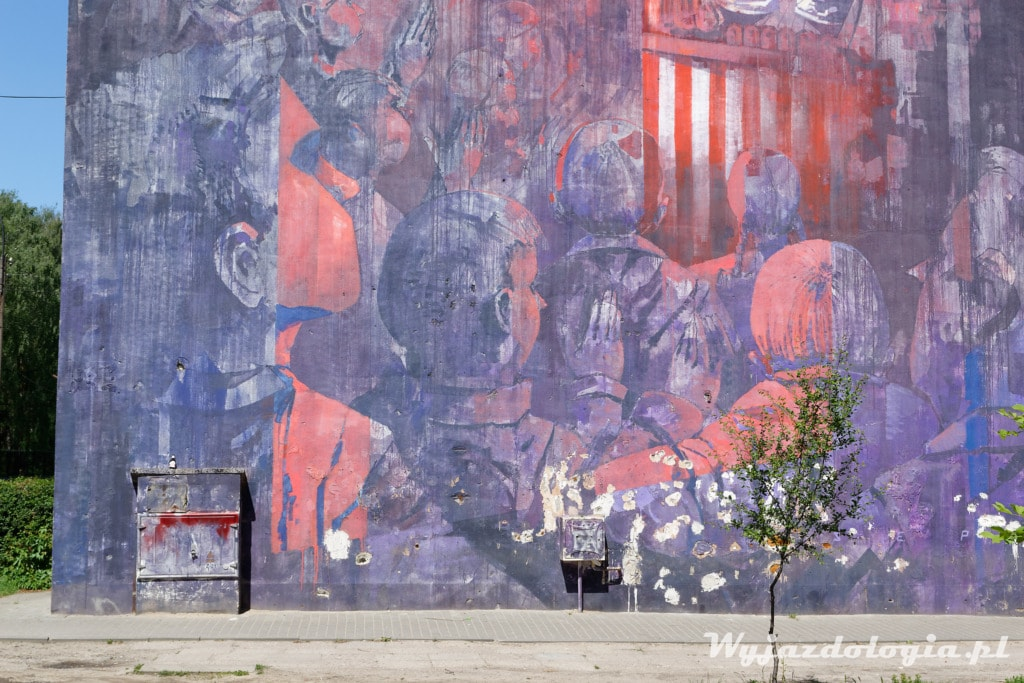 Michał Sepe Wręga Mural Warszawa
