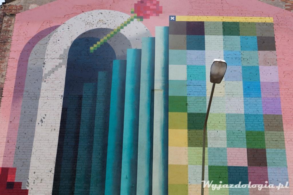 Piksela na Pradze Mural
