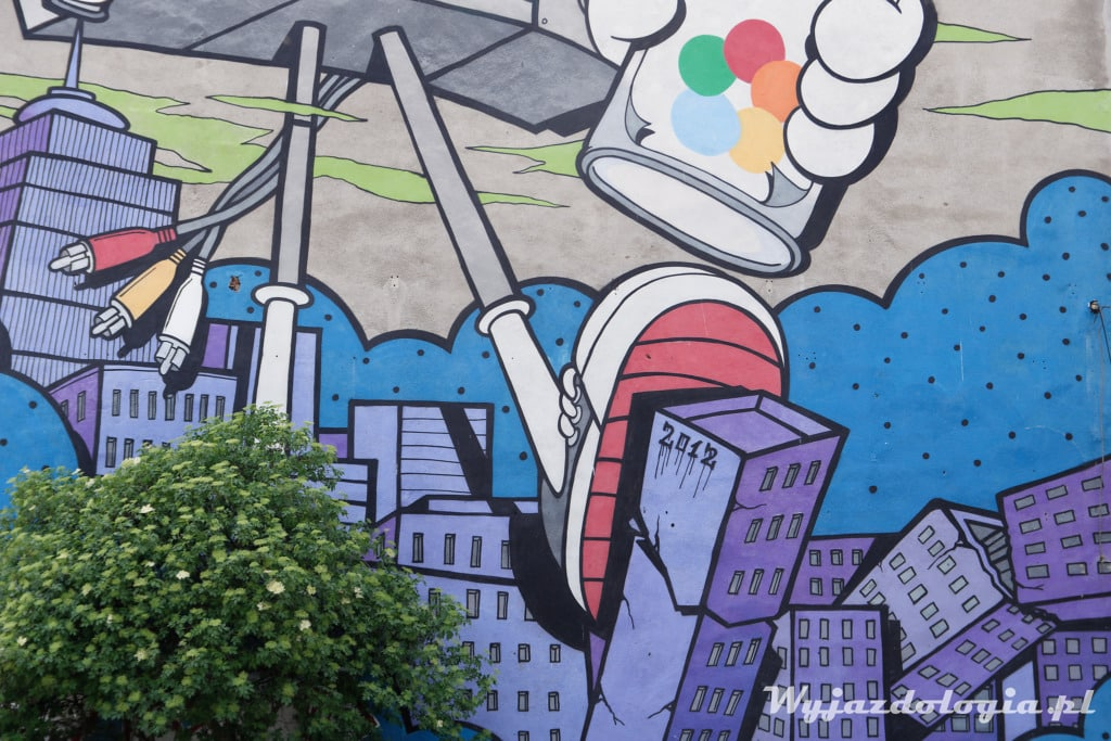 Boombox Mural Grochowska