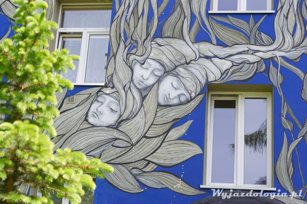 Mural Siewca Snów Żółkiewskiego Warszawa