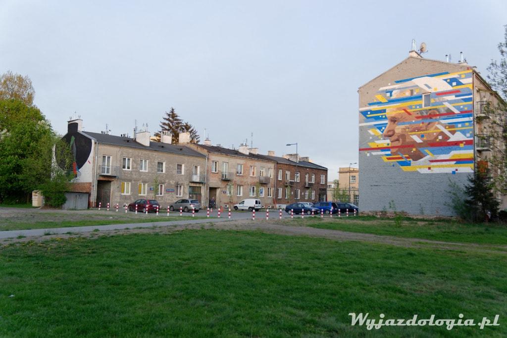 Mural po Prawej Stronie Wisły Jan Paweł II