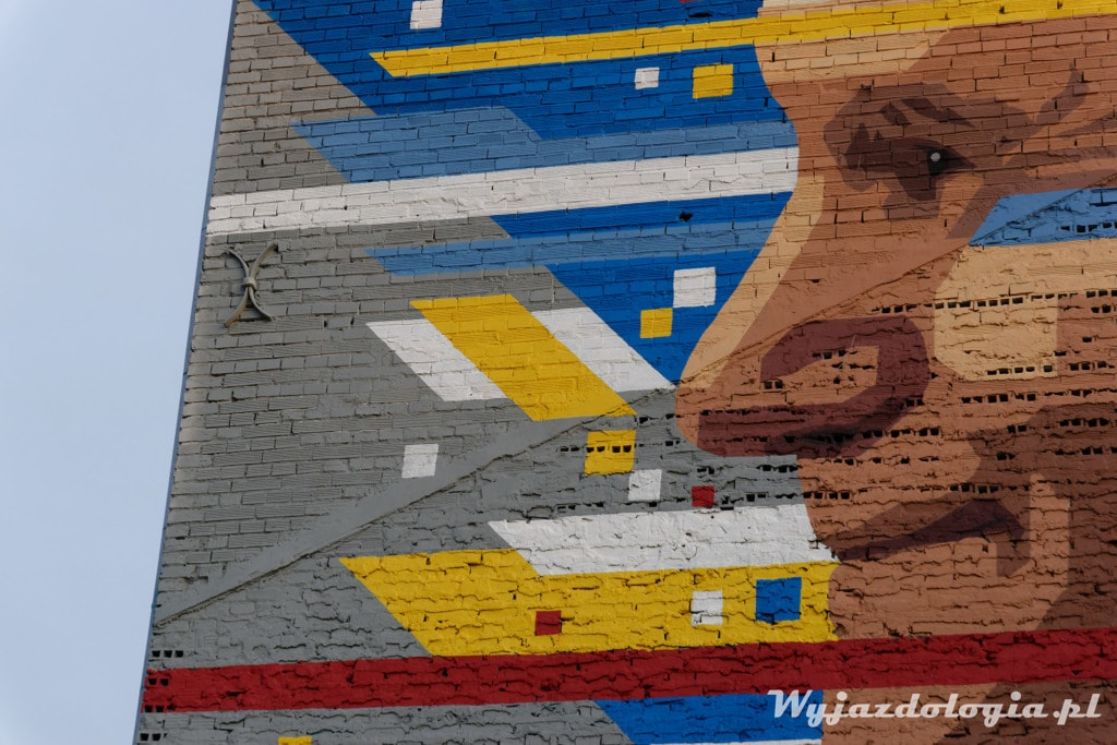 Mural Jan Paweł II