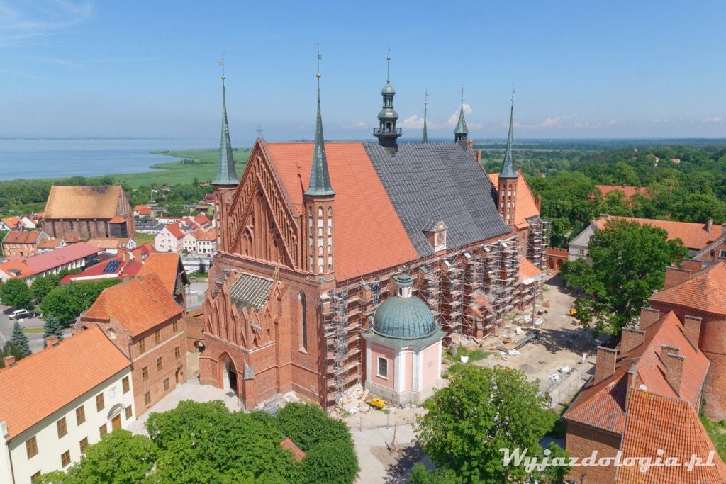 Widok z Wiezy Radziejowskiego Frombork
