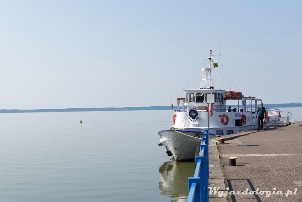 Statek do Fromborka z Krynicy Morskiej