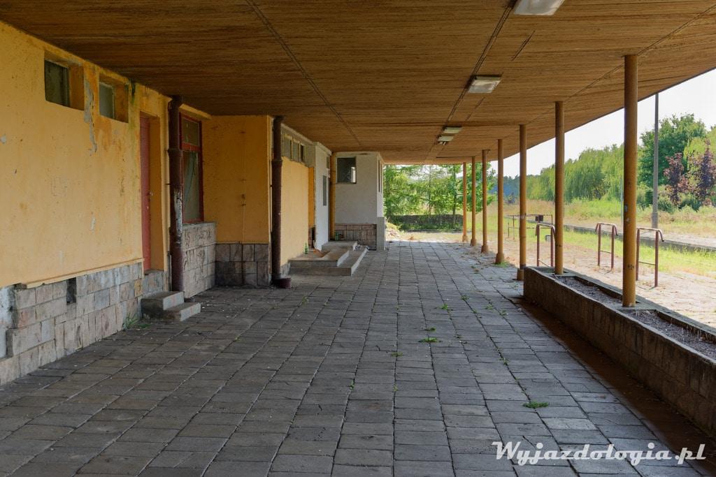 Frombork Stary Dworzec Kolejowy
