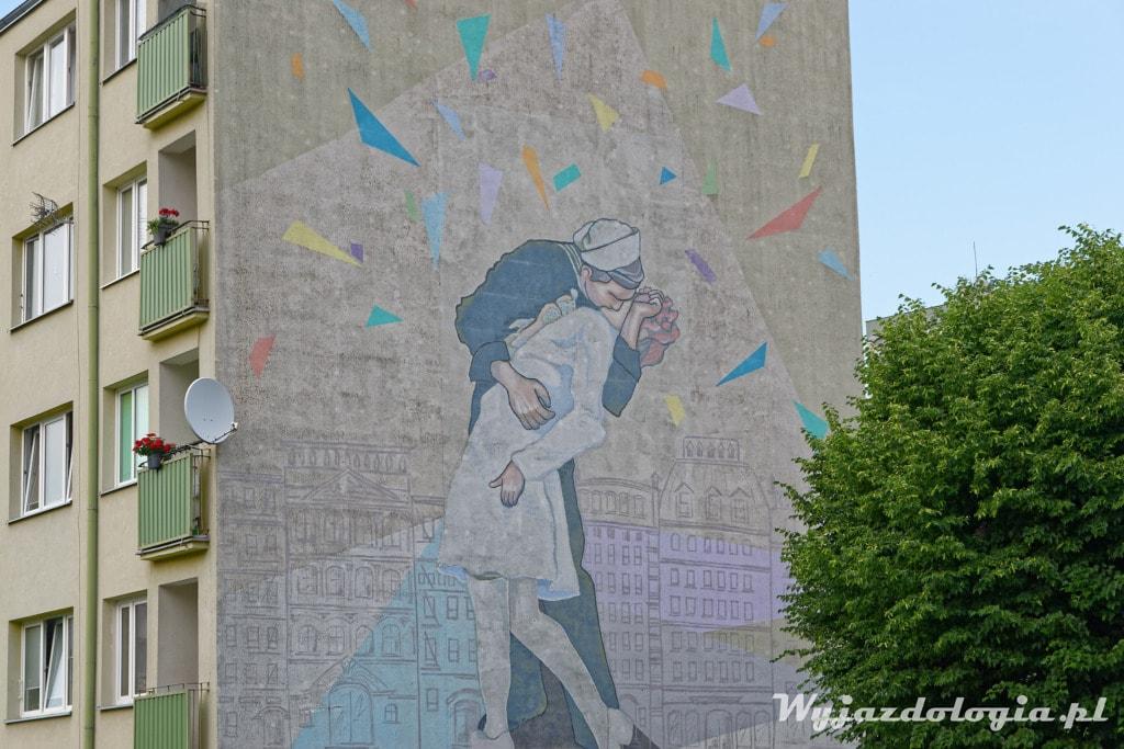 Eisenstaedt Mural Tczew