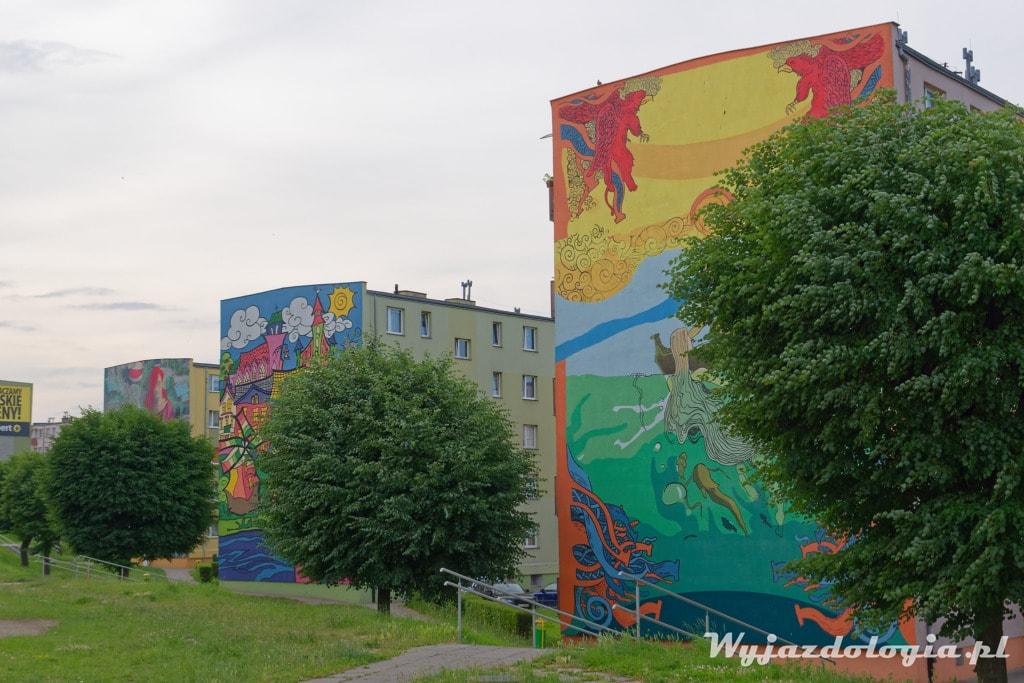 Tczew Murale