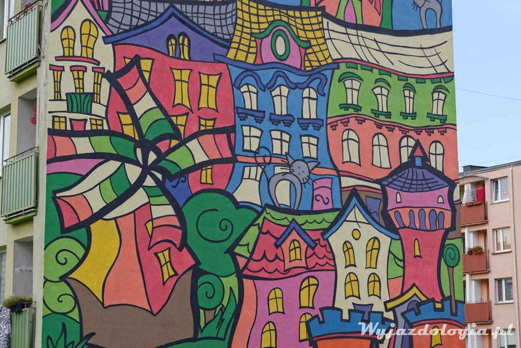 Tczew Zabytki Mural